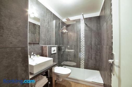Hôtel De La Baie De Wissant - Escalles - Bathroom