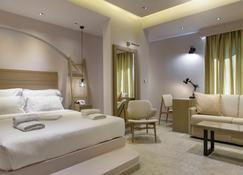 Hotel Pyrgos Boutique & Suites - Ouranoupoli - Makuuhuone