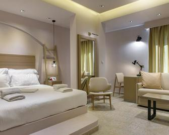 Hotel Pyrgos Boutique & Suites - Ouranoupoli - Bedroom