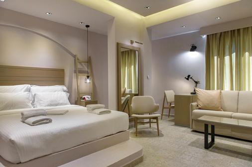 Ξενοδοχεία Πύργος - Ουρανούπολη - Κρεβατοκάμαρα