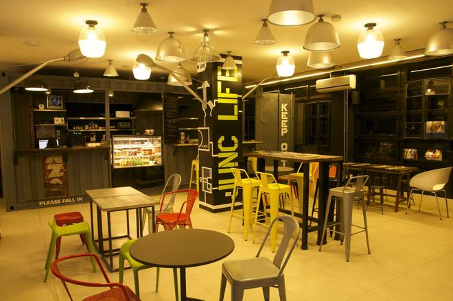 Makati Junction Hostels - Μανίλα - Εστιατόριο