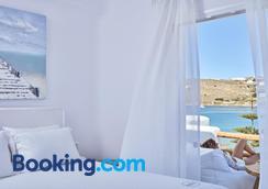 Mykonos Waves Beach House & Suites - Ορνός - Μπάνιο