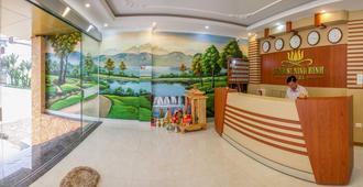 Sunrise Ninh Binh Hotel - Hostel - Ninh Bình - Front desk