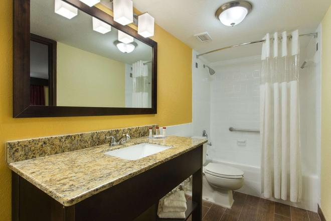 Ramada by Wyndham Tampa Airport Westshore - Tampa - Salle de bain
