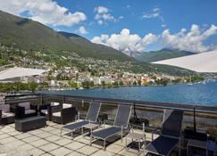 H4 Hotel Arcadia Locarno - Locarno - Balkong