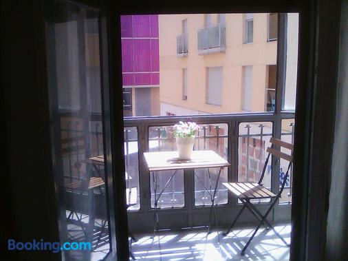 Hostal Central - Zaragoza - Balcony
