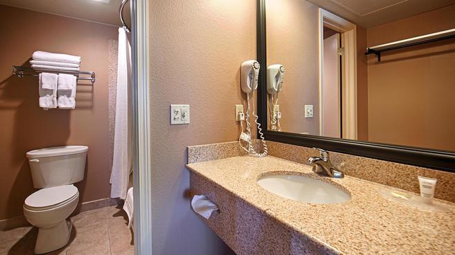 貝斯特韋斯特機場維斯塔旅館 - 波伊西 - 博伊西 - 浴室