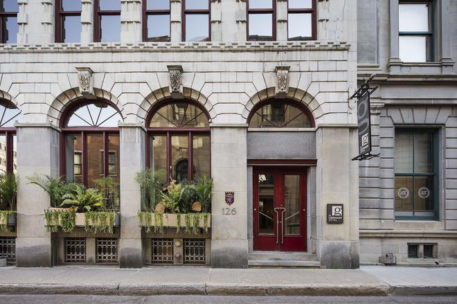 魁北克日耳曼酒店 - 魁北克市 - 建築
