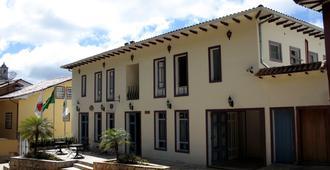 Pousada Minas Gerais - אורו פרטו - בניין