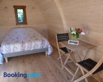 L'eden naturiste - Шаллан - Bedroom