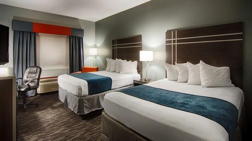 Best Western Inn & Suites - Elkhart - Schlafzimmer