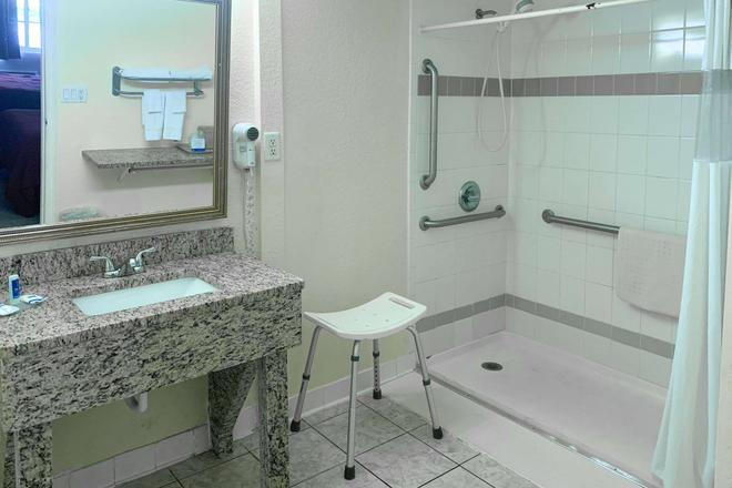 羅德威酒店 - 蓋斯維爾 - 蓋恩斯維爾 - 浴室