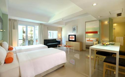 Harris Hotel & Residences Riverview Kuta - Kuta - Bedroom