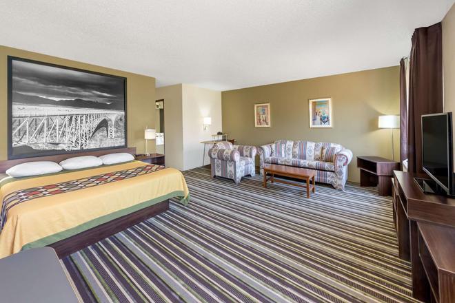 新墨西哥州羅斯韋爾速 8 酒店 - 羅斯威爾 - 羅斯威爾 - 臥室