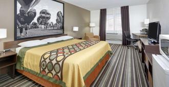 新墨西哥州羅斯韋爾速 8 酒店 - 羅斯威爾 - 羅斯維爾 - 臥室