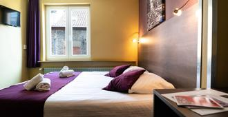 Flandria Hotel - Gent - Yatak Odası