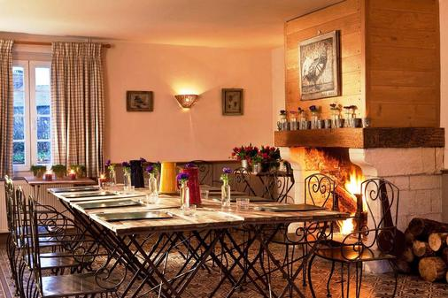 Auberge De La Source - Honfleur - Dining room