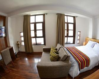 La Aurora Hotel - Уарас - Bedroom