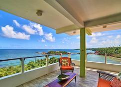 Cloud9 Dominica Boutique Hotel - Calibishie - Balcony