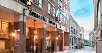 SpringHill Suites by Marriott Old Montreal - Montreal - Building