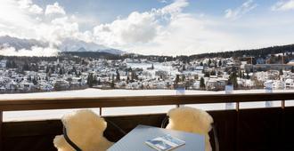 T3 Alpenhotel Flims - Flims - Balcón