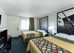 Super 8 by Wyndham San Diego Hotel Circle - San Diego - Bedroom