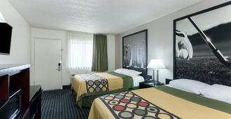 Super 8 by Wyndham San Diego Hotel Circle - סן דייגו - חדר שינה