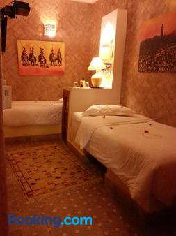Riad Charcam - Adults Only - Marrakesh - Phòng ngủ