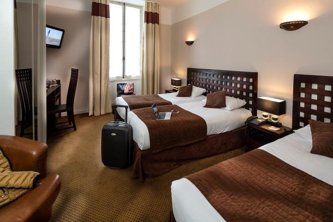 Best Western Le Comtadin - Carpentras - Schlafzimmer