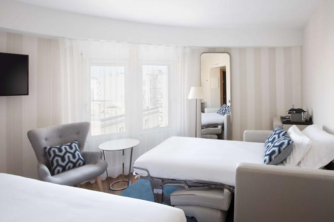 NH Madrid Balboa - Madrid - Bedroom