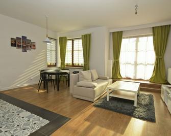 Poduszka Apartamenty Zdrojowe - Nałęczów - Living room