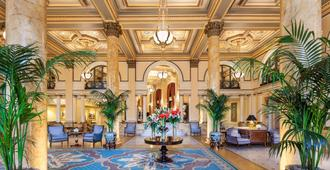Willard Intercontinental Washington, An Ihg Hotel - Washington - Resepsjon