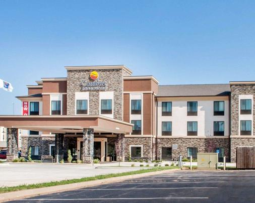 Comfort Inn & Suites - Woodward - Rakennus