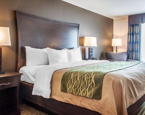 Comfort Inn & Suites - Woodward - Makuuhuone