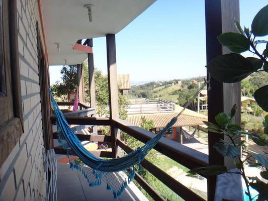 Paraiso Hostel Praia do Rosa - Praia do Rosa - Balcón