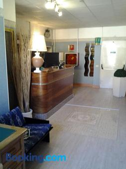 Hotel Touring - Rome - Front desk