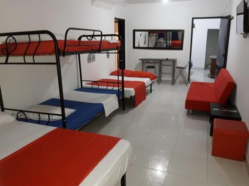 Aparta Hotel El Bosque zz - Cali - Bedroom