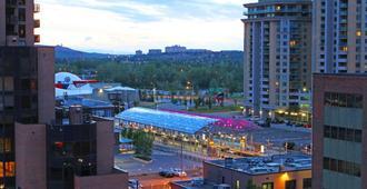 Holiday Inn Express Hotel & Suites Calgary, An IHG Hotel - קלגרי - נוף חיצוני