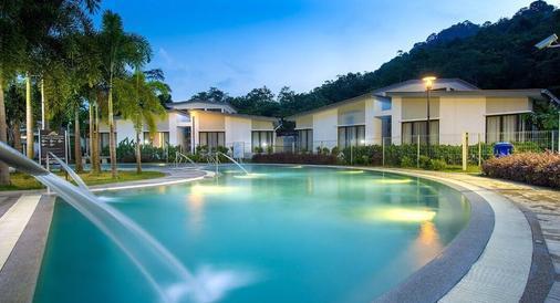 Suria Hot Spring Resort, Bentong - Bentong - Pool