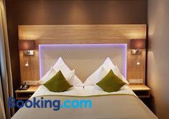 Apparthotel Garni Superior Simsseeblick - Pelham - Bedroom