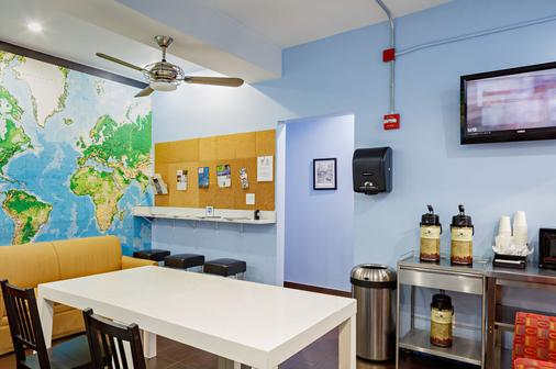 Central Park West Hostel - New York - Yemek odası