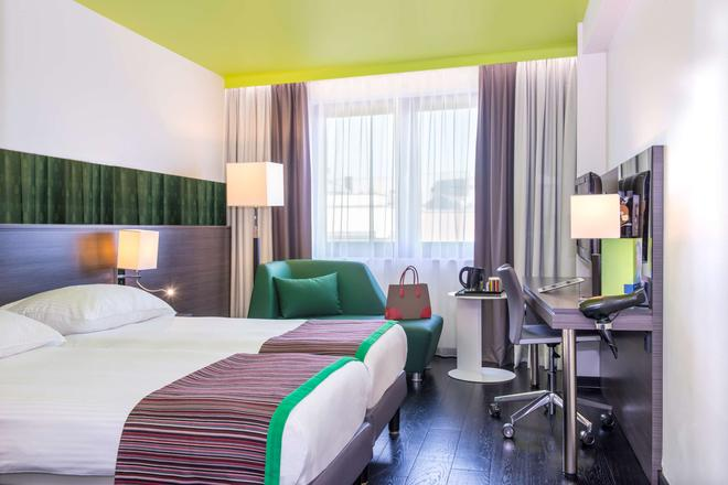 Park Inn by Radisson Luxembourg City - Luxembourg - Phòng ngủ