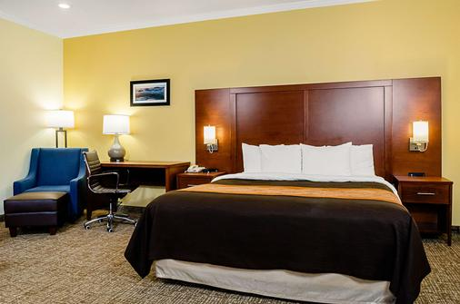 Comfort Inn Monterey Peninsula Airport - Monterey - Bedroom