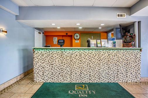 Quality Inn - Bowling Green - Lễ tân
