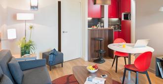 阿達吉奧圖盧茲派特農城市公寓酒店 - 土魯斯 - 圖盧茲 - 客廳