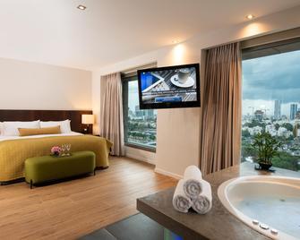 Leonardo City Tower Hotel Tel Aviv - Ramat Gan - Slaapkamer