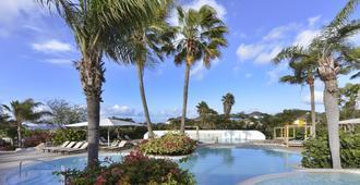 Time To Smile Chogogo Dive & Beach Resort - ווילמסטאד - בריכה