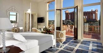Hotel Villa Athena - אגריג'נטו - חדר שינה