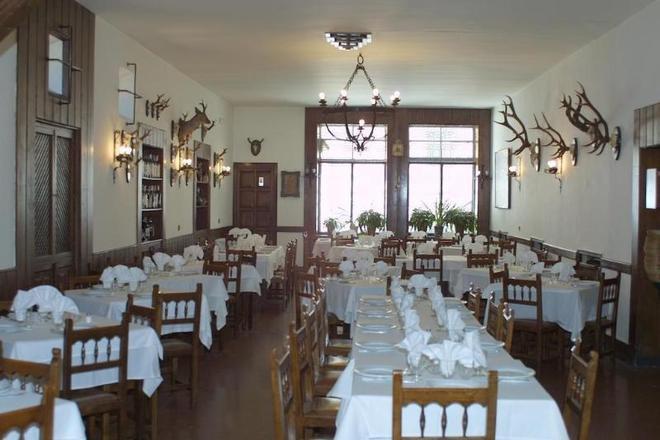 호텔 엘 라스트로 - 아빌라 - 레스토랑