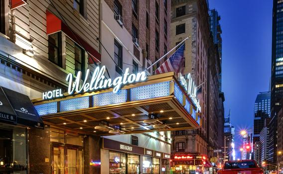 Hotels In New York City >> Wellington Hotel 13 3 5 8 New York Hotel Deals
